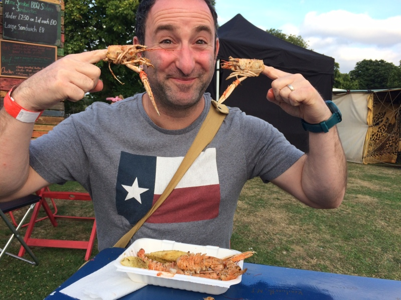 Gary and Langoustines